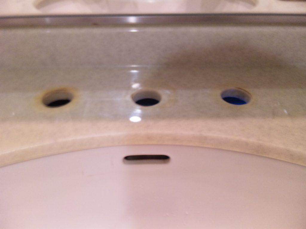3穴水栓→1穴水栓